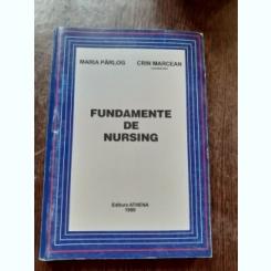 FUNDAMENTE DE NURSING - MARIA PARLOG