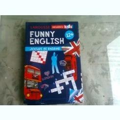 FUNNY ENGLISH, JOCURI SI ENIGME 12+