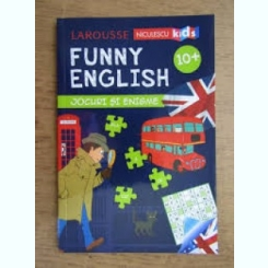 FUNNY ENGLISH, JOCURI SI ENIGME
