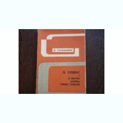 G. COSBUC. O PRIVIRE ASUPRA OPEREI LITERARE - D . VATAMANIUC
