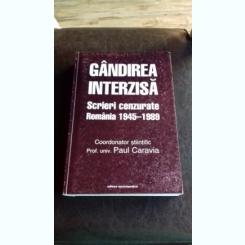 GANDIREA INTERZISA - PAUL CARAVIA