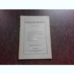 GAZETA MATEMATICA NR.5/1943