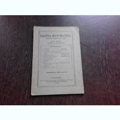 GAZETA MATEMATICA NR.6/1943