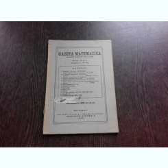 GAZETA MATEMATICA NR.9/1943