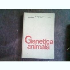 GENETICA ANIMALA - ST. POPESCU-VIFOR