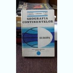 Geografia Continentelor Europa - N. Caloianu V. Garbacea I. Harjoaba S. Iancu I. Marin