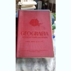 GEOGRAFIA REPUBLICII POPULARE ROMANE - MANUAL CLS. A VII-A