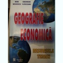 GEOGRAFIE ECONOMICA. RESURSELE TERREI - BEBE NEGOESCU