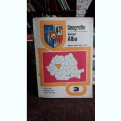 GEOGRAFIE. JUDETUL ALBA - VULCU BUJOR   MANUAL PENTRU CLASA A-III-A