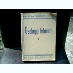 Geologia tehnica 1 - N. Mihailescu