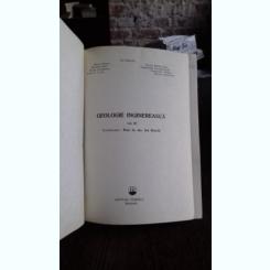 GEOLOGIE INGINEREASCA - ION BANCILA    2 VOLUME