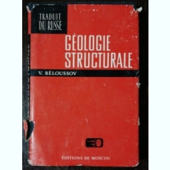 GEOLOGIE STRUCTURALE - V.BELOUSSOV