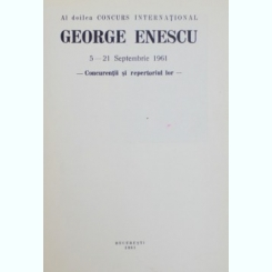 George Enescu- concurs international 1961