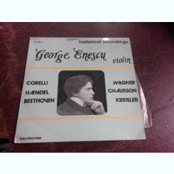 GEORGE ENESCU, VIOLIN