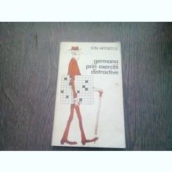 GERMANA PRIN EXERCITII DISTRACTIVE de ION APOSTOL , 1983