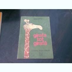GIRAFA TOT GIRAFA - MATTY   (CARTE DE COLORAT)