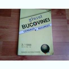 GLASUL BUCOVINEI-CERNAUTI-BUCURESTI-ALEXANDRINA CERNOV