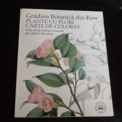 Gradina botanica din Kew CARTE DE COLORAT PENTRU ADULTI