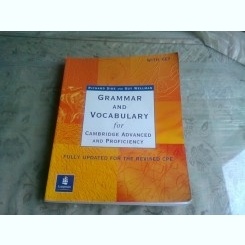 GRAMMAR AND VOCABULARY FOR CAMBRIDGE ADVANCED AND PROFICIENCY