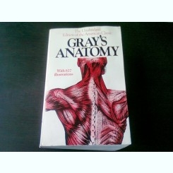 GRAY'S ANATOMY  (ANATOMIA LUI GRAY, TEXT IN LIMBA ENGLEZA)