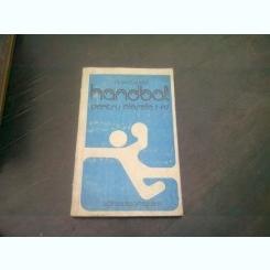 HANDBAL PENTRU CLASELE I-IV - GAVRIL CSUDOR