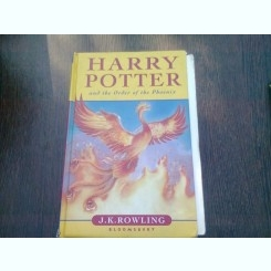 HARRY POTTER AND THE ORDER OF THE PHOENIX - J.K. ROWLING  (CARTE IN LIMBA ENGLEZA)