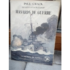 HASARDS DE GUERRE , PAUL CHACK