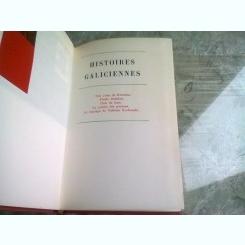 HISTOIRES GALICIENNES - SACHER MASOCH  (CARTE IN LIMBA FRANCEZA)