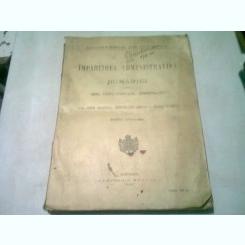 IMPARTIREA ADMINISTRATIVA A ROMANIEI INSOTITA DE LEGEA PENTRU UNIFICAREA ADMINISTRATIVA SI DE LEGEA PENTRU ORGANIZAREA ADMINISTRATIUNII COMUNALE A ORASULUI BUCURESTI - EDITIE OFICIALA