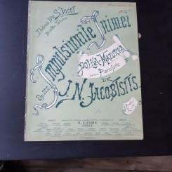IMPULSIUNILE INIMII, POLKA MAZURKA PENTRU PIANOFORTE DE J.N. JACOBTSITS