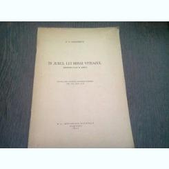 IN JURUL LUI MIHAI VITEAZUL. RASPUNS D-LUI N. IORGA - P.P. PANAITESCU