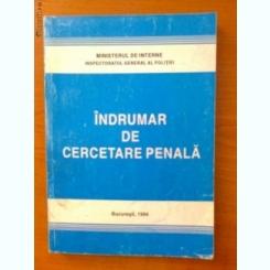 INDRUMAR DE CERCETARE PENALA
