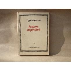 Initiere in poetica , Eugeniu Sperantia , 1968