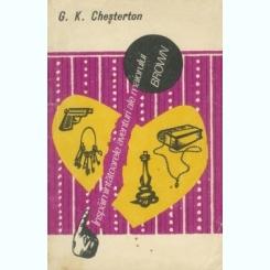 INSPAIMANTATOARELE AVENTURI ALE MAIORULUI BROWN - G.K. CHESTERTON