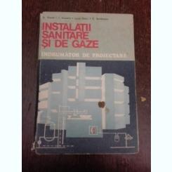 Instalatii sanitare si de gaze, indrumator de proiectare - Traian Cruceru,Stefan Vintila,Lucia Onciu