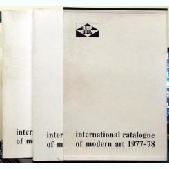 INTERNATIONAL CATALOGUE OF MODERN ART 1977-78   2 VOLUME
