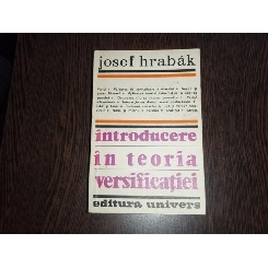 INTRODUCERE IN TEORIA VERSIFICATIEI - JOSEF HRABAK