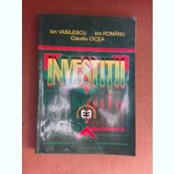 Investitii - Ion Vasilescu