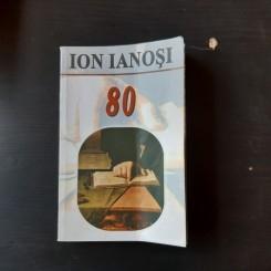 ION IANOSI 80 - AURA CHRISTI, ALEXANDRU STAFANESCU  (CU DEDICATIA LUI ION IANOSI)