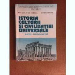 Istoria culturii si civilizatiei universale, sinteze perioada antica - Paul Caravia