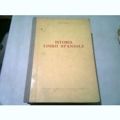 ISTORIA LIMBII SPANIOLE IORGU IORDAN