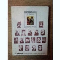 ISTORIA LINGVISTICII DE GEORGES MOUNIN
