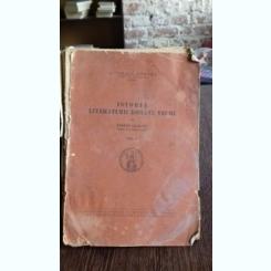 ISTORIA LITERATURII ROMANE VECHI - STEFAN CIOBANU   VOL.1