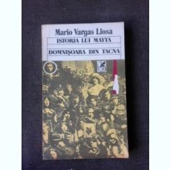 Istoria lui Mayta, Domnisoara din Tacna - Mario Vargas Llosa