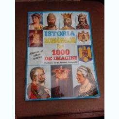 Istoria romanilor in 1000 de imagini, album si atlas scolar