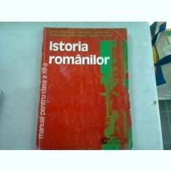 ISTORIA ROMANILOR. MANUAL CLASA A XII-A - NICOLETA DUMITRESCU