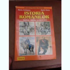Istoria romanilor, manual pentru clasa a IV-a - Maria Ochescu