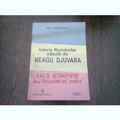 ISTORIA ROMANILOR VAZUTA DE  NEAGU DJUVARA - DAN ZAMFIRESCU