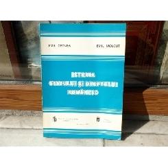 Istoria Statutului si dreptului Romanesc , Emil Cernea , 1993