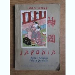 JAPONIA. ARTA, FEMEIA, VIATA SOCIALA - IOAN TIMUS